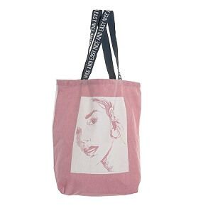 Tote bag art Rose