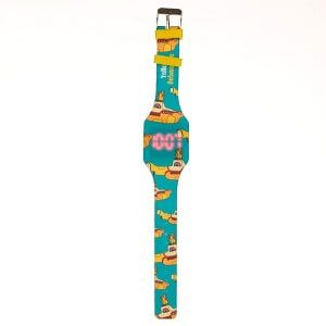 Reloj Digital de Silicona - Yellow submarine-V